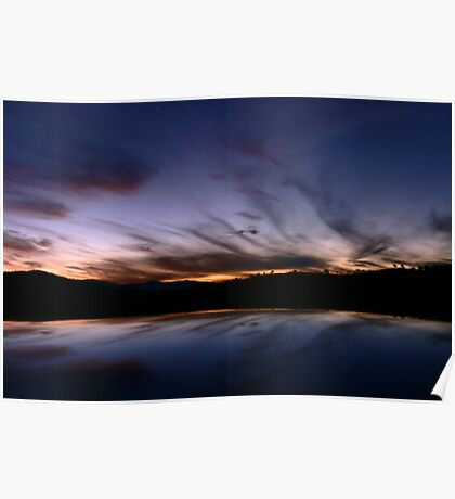 Tharwa Sunset Poster