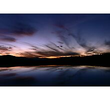 Tharwa Sunset Photographic Print