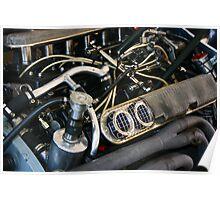 BRM V12 engine Poster