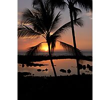 Kona Sunset Photographic Print