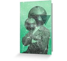 Color Chaos Collection -- Green Universe Greeting Card