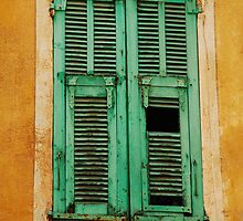 Broken and Peeling Shutters by jojobob