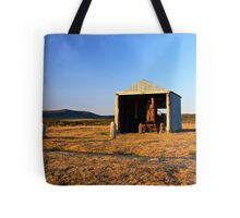 Rusted Tractor Tote Bag