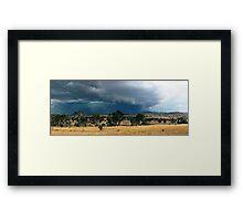 Tharwa Storm Framed Print