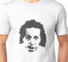 Albert Einstein's Dot Portrait Unisex T-Shirt