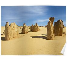 Pinnacles Desert Poster
