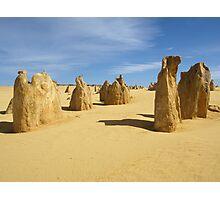 Pinnacles Desert Photographic Print