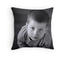 Puppy dog eyes Throw Pillow