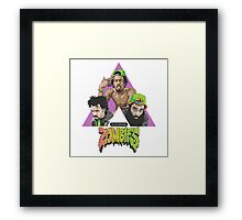 Flatbush Zombies Tri Framed Print
