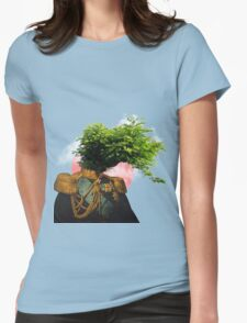 TREE MAN. Womens Fitted T-Shirt