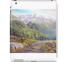 Routeburn Valley iPad Case/Skin