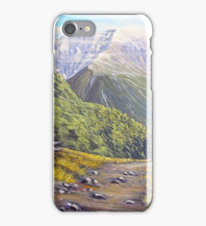 Routeburn Valley iPhone Case/Skin