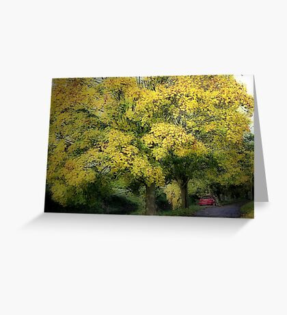 Autumn Rest Greeting Card
