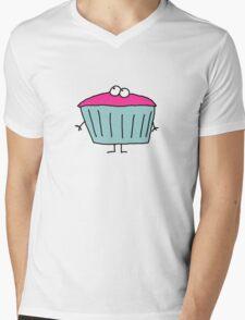 Cup Cake Mens V-Neck T-Shirt