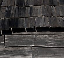 Tin Mine Huts - Wall detail by Syd Winer