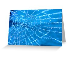 Diamond Blue Greeting Card