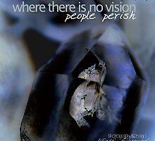 Indigo Quartz Crystal © Vicki Ferrari Photography by Vicki Ferrari