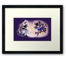 Olaf & Ziggs  Framed Print