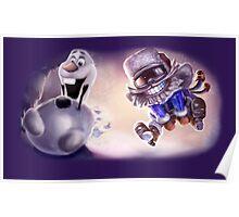 Olaf & Ziggs  Poster