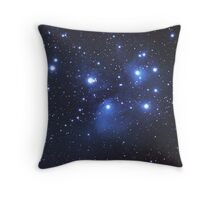 M45 seven sisters Throw Pillow