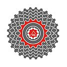 Mountain Bike T-Shirt - Blood Sweat & Gears - East Peak Apparel by springwoodbooks
