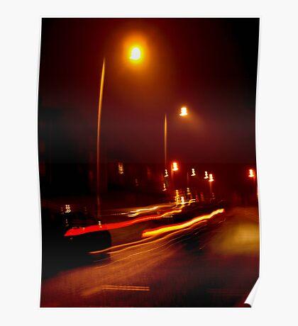 Night After Sidewalk Poster