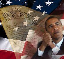 Patriotic America by Beverly Lussier