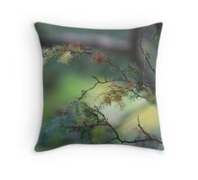 colors in excess Throw Pillow