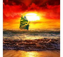 Pirate Ship Photographic Print
