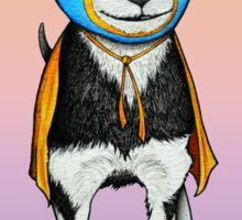 Luchador Chihuahua Dog Sticker