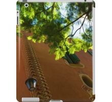 Whimsical  Building Through the Trees - Impressions Of Barcelona iPad Case/Skin
