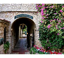 Enchanting alley Photographic Print