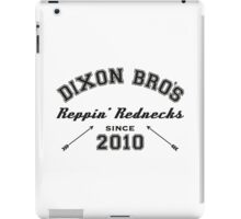 The walking dead's Dixon brothers iPad Case/Skin