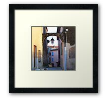 Magical passage Framed Print
