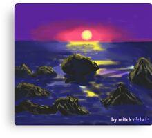 Warming earth Canvas Print