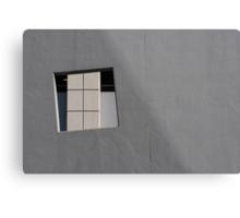 Concrete Geometry Metal Print