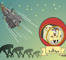 First Living Thing in Space by killmonkies