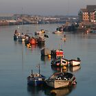 River Adur Moorings  by mikebov