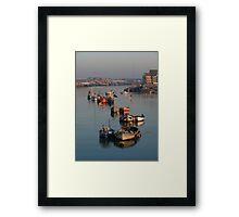 River Adur Moorings  Framed Print