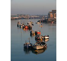 River Adur Moorings  Photographic Print