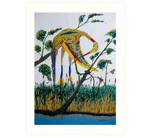 Waterbird Art Print