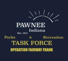 Fairway Frank (for dark shirts) by ceightiebea