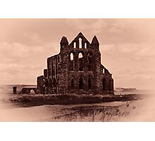 Whitby Abbey Photographic Print