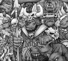 Orc Army by CRGArtDesign