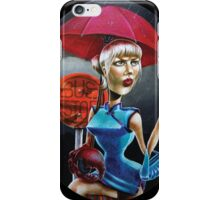 The Amazing Crab Girl iPhone Case/Skin
