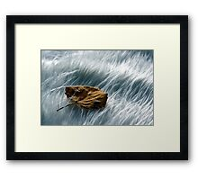 Lost then found Framed Print