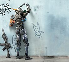 Chappie Movie Poster by notstig