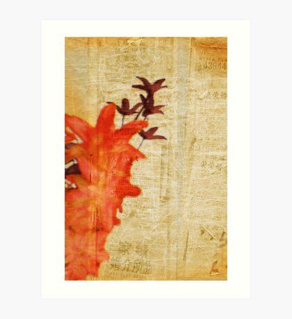 Ki So Ten Gai grunge series #1 Art Print