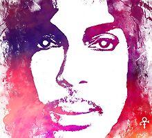 Prince Rogers Nelson - Lotus Flower Purple by JBJart
