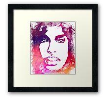 Prince Rogers Nelson - Lotus Flower Purple Framed Print